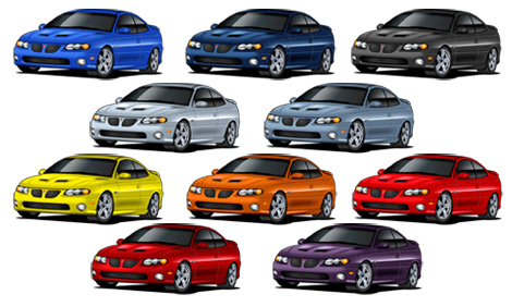 What does your Car's Colour say about you?