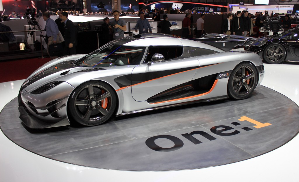 10 Most Spectacular Cars at Geneva Motor Show 2014