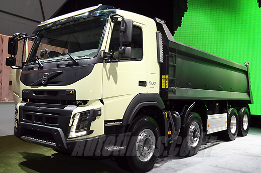 Volvo Unveils New Truck Range at Glitzy Korean Bash