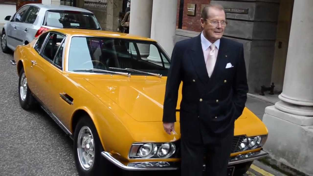 The Cars Made Famous by Roger Moore